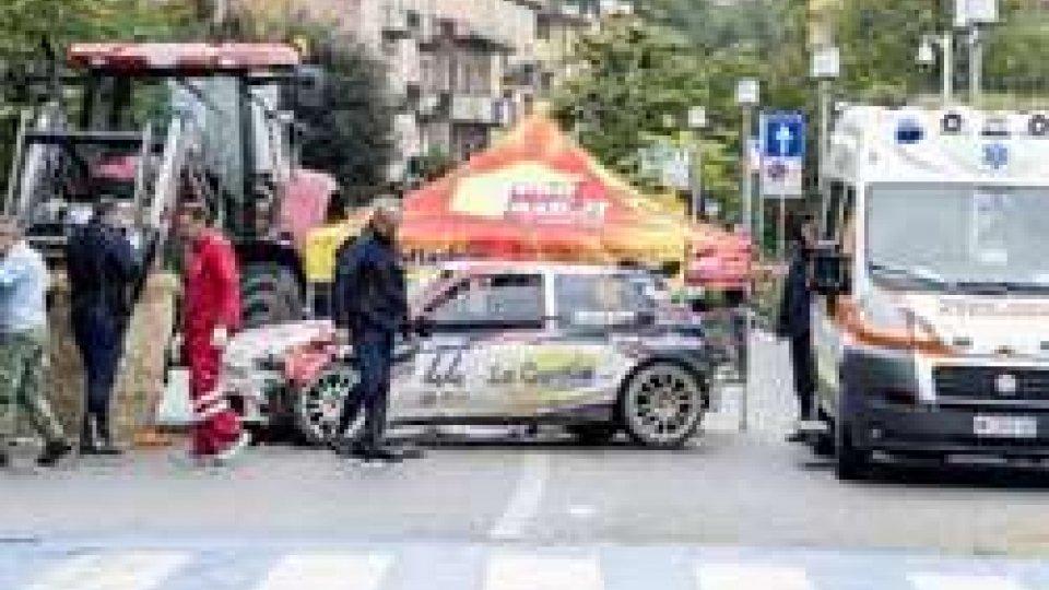 Incidente al Rally Legend: gravi ma stazionarie le condizioni dei feriti