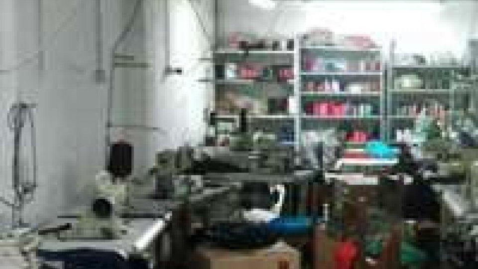 Reggio Emilia, sequestrato opificio-dormitorio cinese