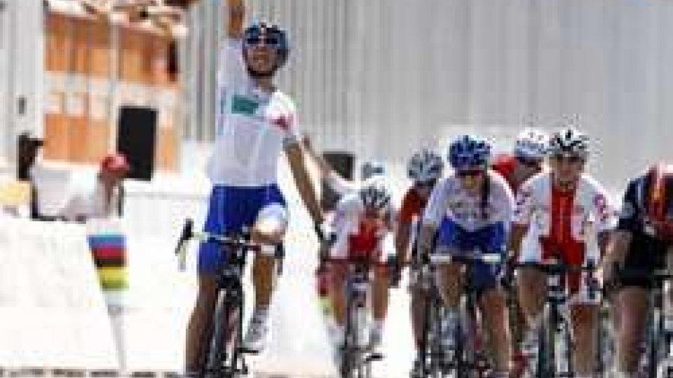 Elisa BalsamoMondiali ciclismo, Balsamo d'oro nella prova in linea juniores