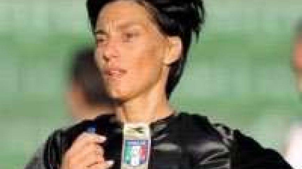 Silvia Tea Spinelli arbitra Portogruaro - San Marino