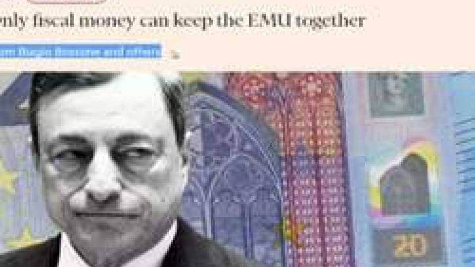 """Bossone sul Financial Times con la """"Moneta Fiscale"""""""