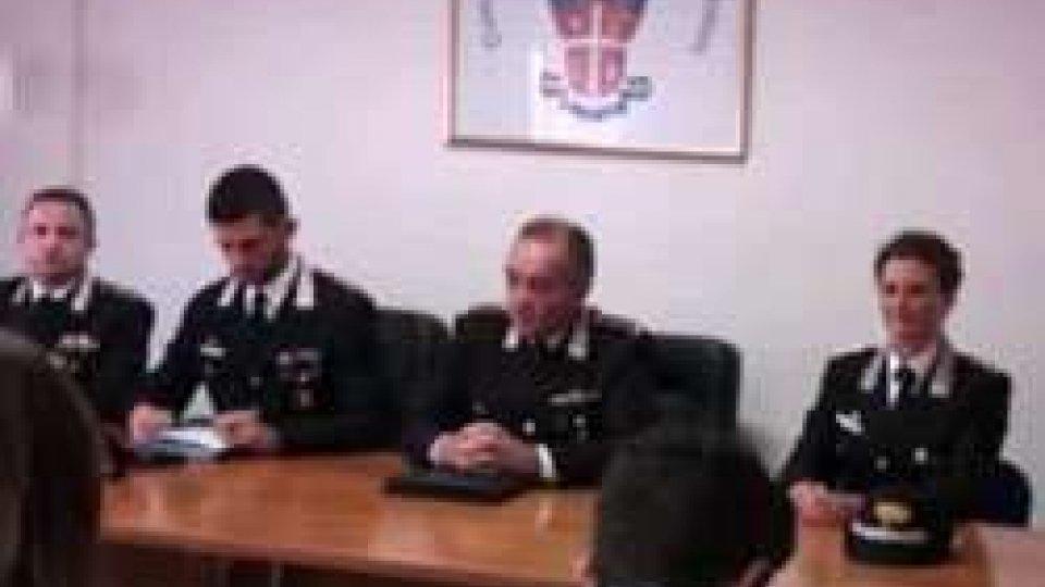 Nuovi Capitani Carabinieri a Novafeltria e Riccione