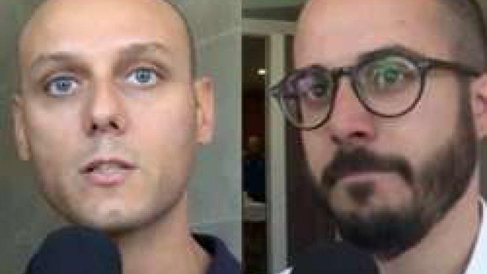 Luca Nanni e Alan GasperoniLa Fiorita, Docente non è ufficiale prima di giovedì. Tre Penne punta tutto su Moretti