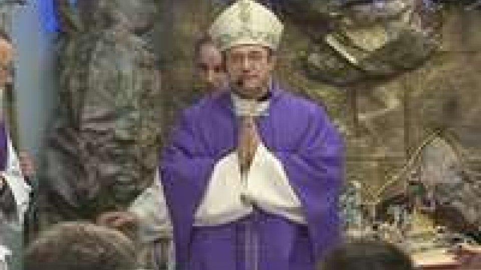 Andrea Turazzi: il Vescovo ha celebrato la Messa alla Casa di Riposo di CailungoAndrea Turazzi: il Vescovo ha celebrato la Messa alla Casa di Riposo di Cailungo