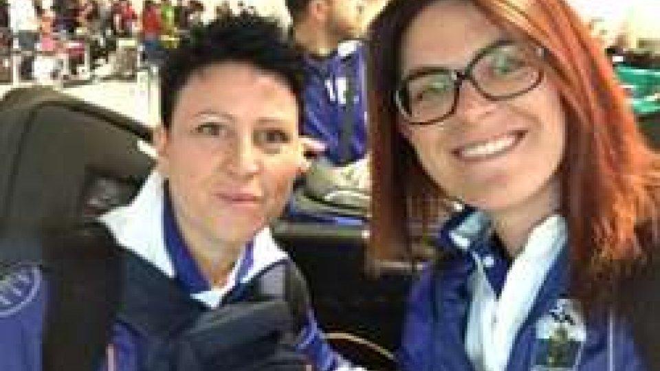 Arianna e Alessandra PerilliSan Marino 2017: verso l'addio al Trap Donne