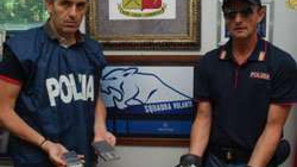 la Polizia sgomina banda dedita a spaccio e furti