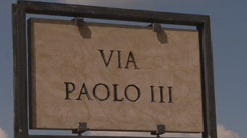 Città: da lunedì i lavori su via Paolo III