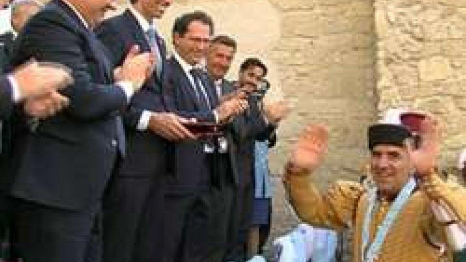 Palio Balestre: vince Giorgio De Angelis