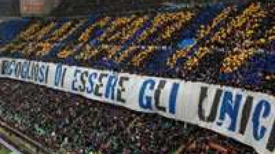 Calcio: cori razzisti, chiusa per un  turno curva Inter