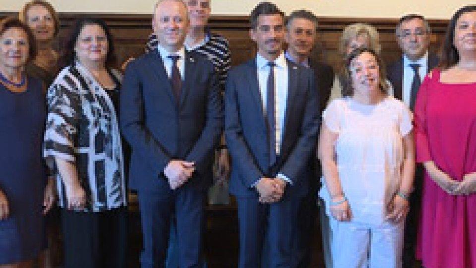 """L'udienza con Checco Guidi e la Fondazione """"Centro Anch'io"""""""