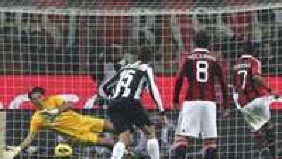 Tabù milanesi: la Juve cade 1-0 a San Siro