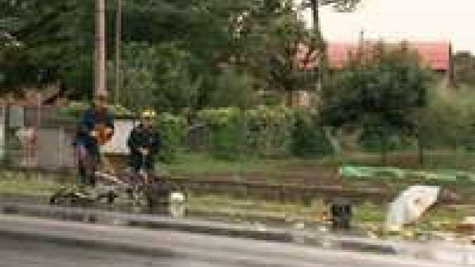Grave un'anziana in bici investita sulla Tolemaide