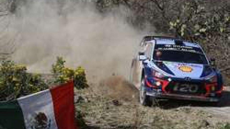 Rally del Messico: il miglio tempo a Thierry Neuville