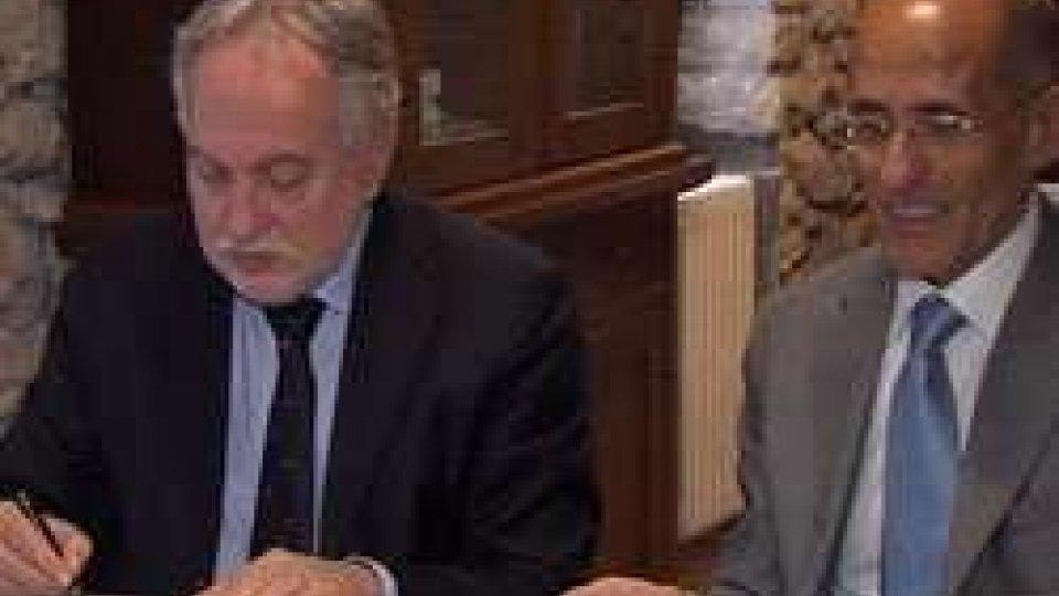 Innovazione: firmato accordo tra l'Università del Titano e Telecom Italia San MarinoInnovazione: firmato accordo tra l'Università del Titano e Telecom Italia San Marino