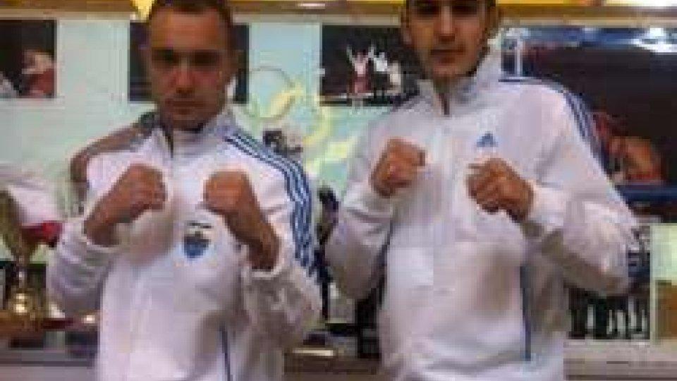 Pugilato: Frisoni e Mariotti sul ring di Cattolica