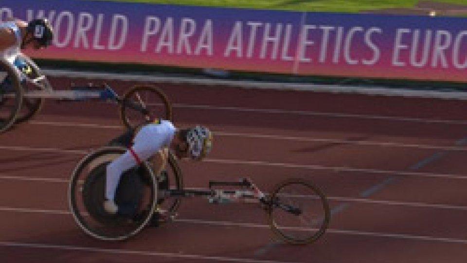 Europei ParalimpiciEuropei Paralimpici di Atletica Leggera, Giuseppe Campoccio è d'oro