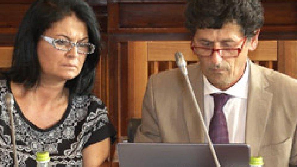 Mimma Zavoli e il Segretario Zanotti