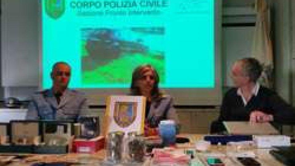 Conferenza stampa Polizia Civile