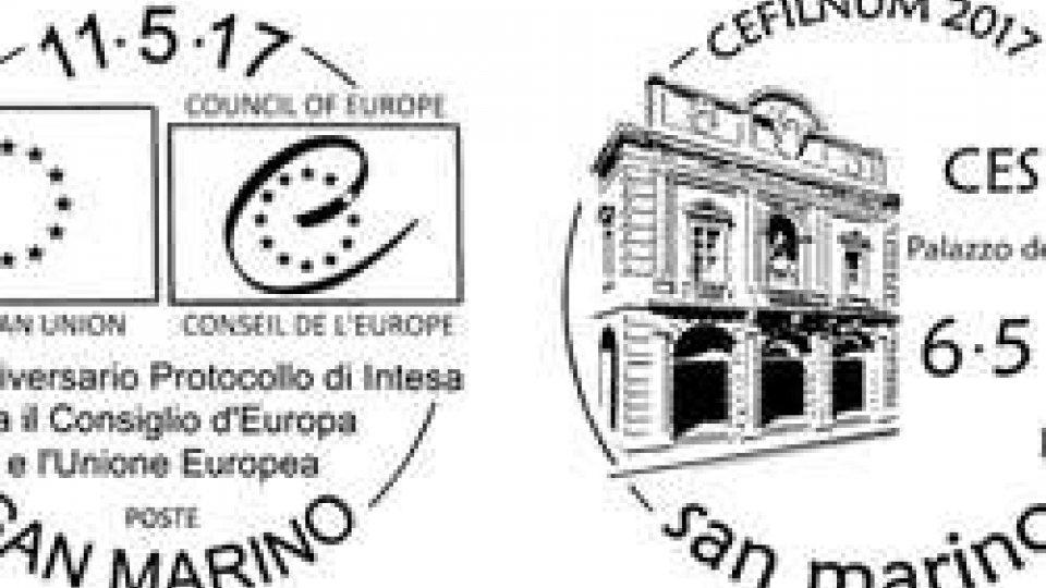 Gli annulli sammarinesi saranno presentati a Cesena, Essen e Verona