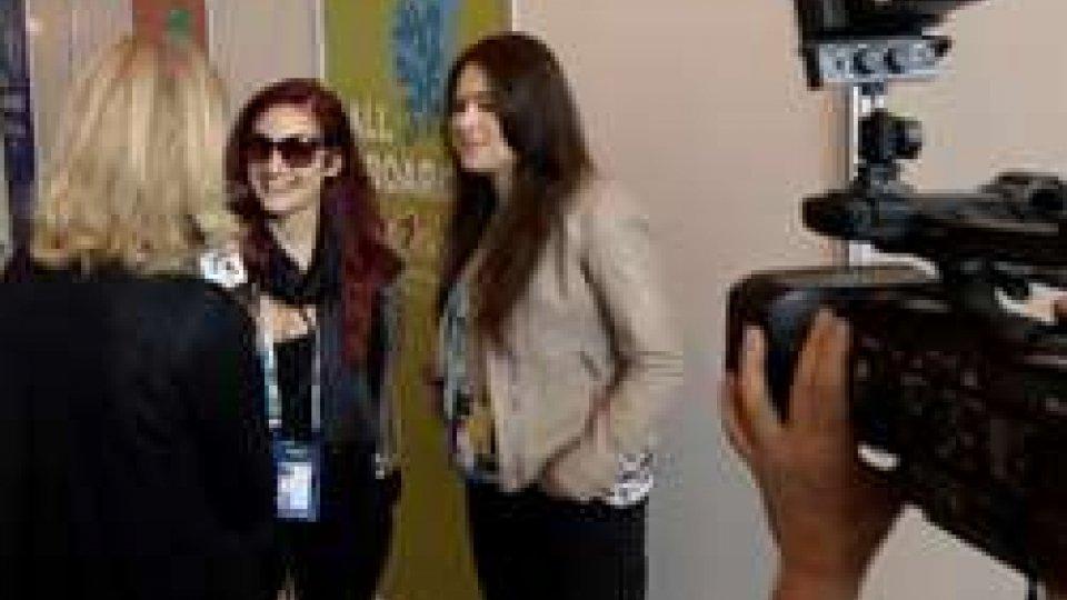 Jessika e JeniferLa canzone di San Marino all'Eurovision quest'anno tratta il delicato tema del bullismo