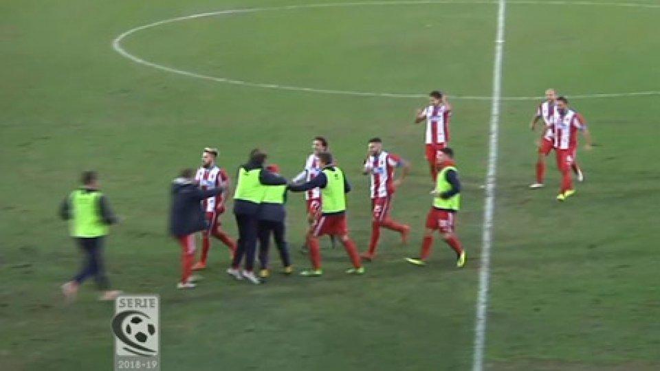 Vis Pesaro - FeralpiSalò 1-0Serie C Girone B: la Vis Pesaro batte la Feralpi e dedica la vittoria ai ragazzi deceduti nella tragedia di Corinaldo