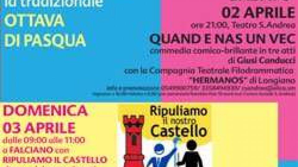 """Serravalle: """"Festa del Castello"""" per l'OTTAVA DI PASQUA"""