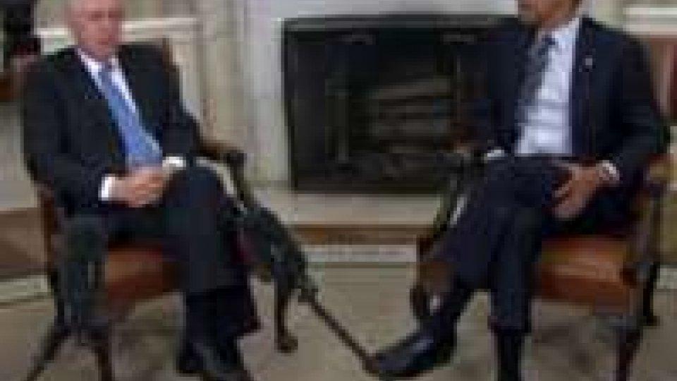 Incontro Monti-Obama su Grecia e vertici G8 e Nato