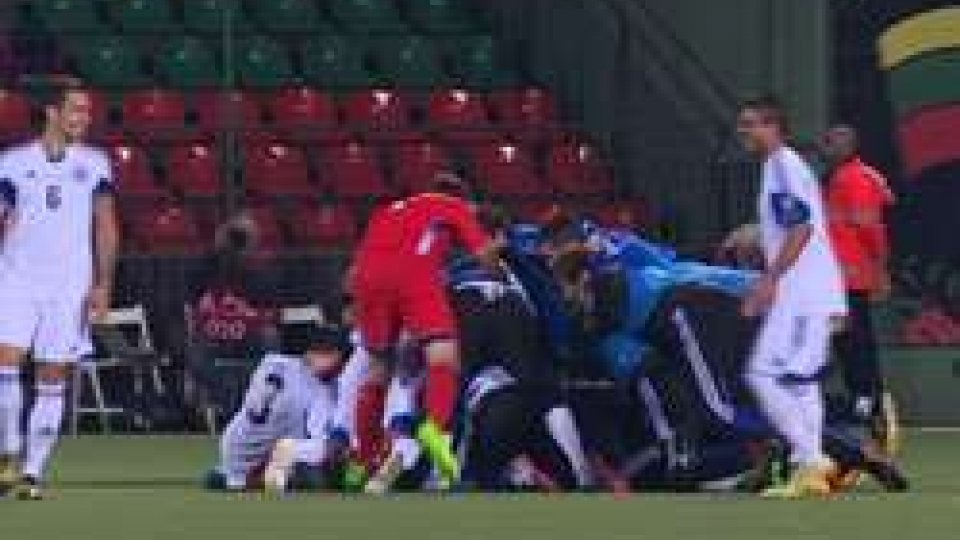 Dov'è Vitaioli?Euro 2016: Lituania San Marino 2-1 vista da RTV
