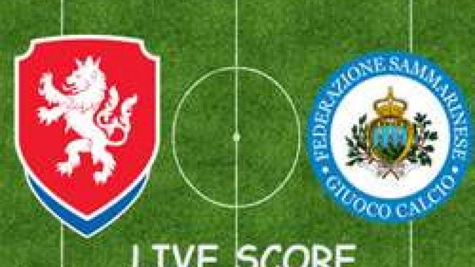 FINALE   Repubblica Ceca-San Marino 5-0