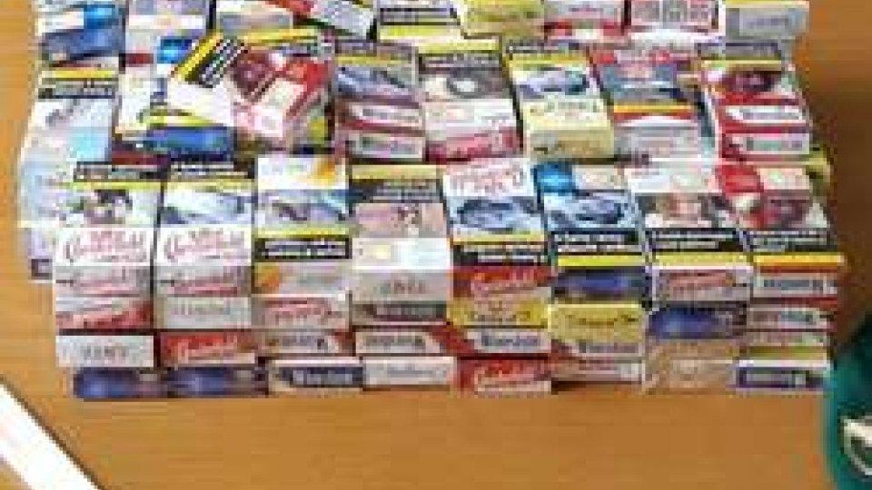 GdF sequestra 130 pacchetti di sigarette