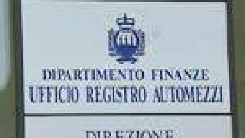 Trasporti: calano ancora le immatricolazioni a San Marino
