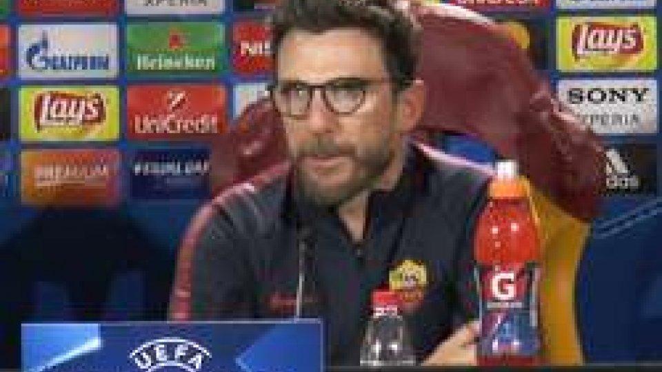 Eusebio Di FrancescoChampions: con lo Shakhtar, la Roma ha solo un risultato