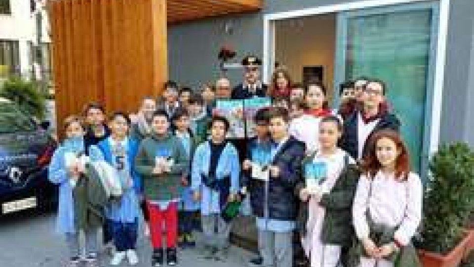 Riccione: Al via la campagna condotta dall'arma dei carabinieri per la formazione della cultura della legalità con le visite guidate presso i comandi dell'arma.