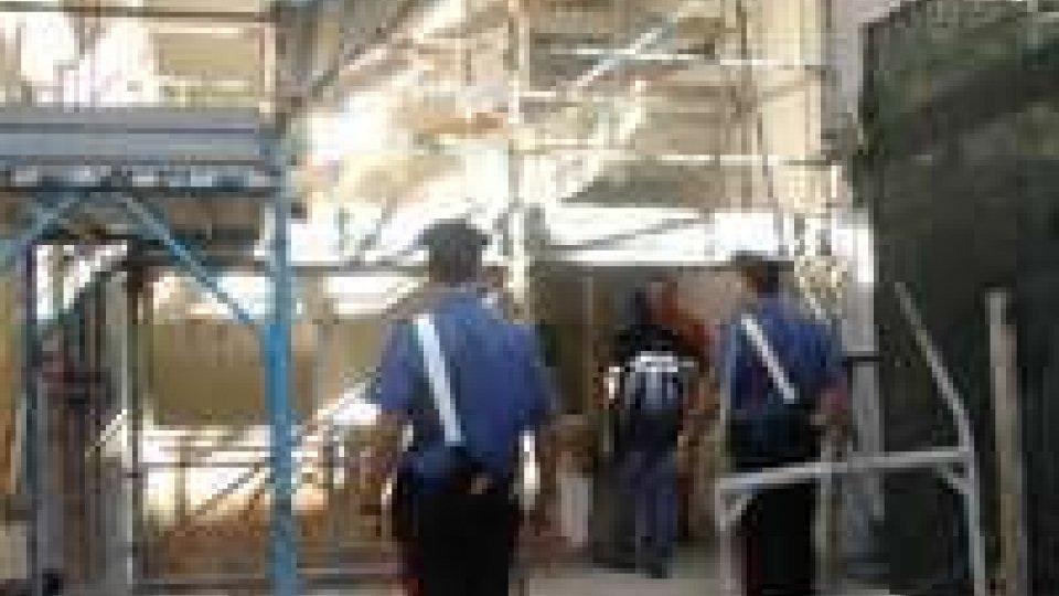 Controlli nei cantieri: sanzioni per oltre 30.000 euro e 3 ditte sospese