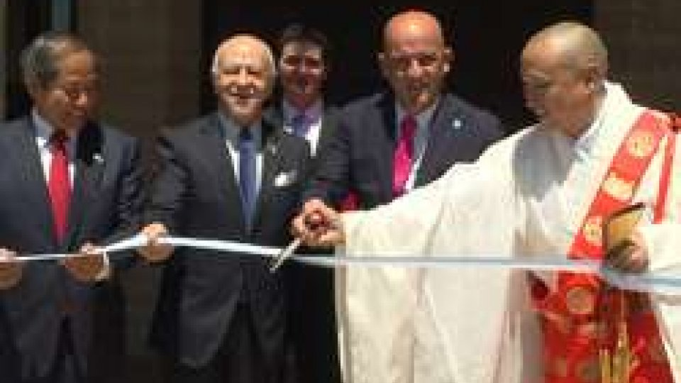 """San Marino: inaugurata la mostra """"Il Giappone nel baule: Guerra, Pace e Buddhismo""""San Marino: inaugurata la mostra """"Il Giappone nel baule: Guerra, Pace e Buddhismo"""""""