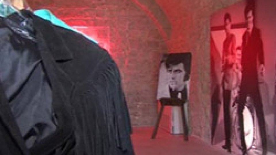La mostra su Little Tony a San Marino in cui erano stati esposti gli oggetti