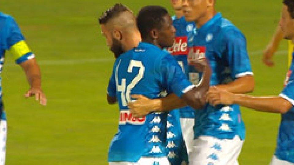 Napoli-Chievo 2-0Amichevole, Napoli batte Chievo 2-0 a Trento: apre Verdi, chiude Tonelli