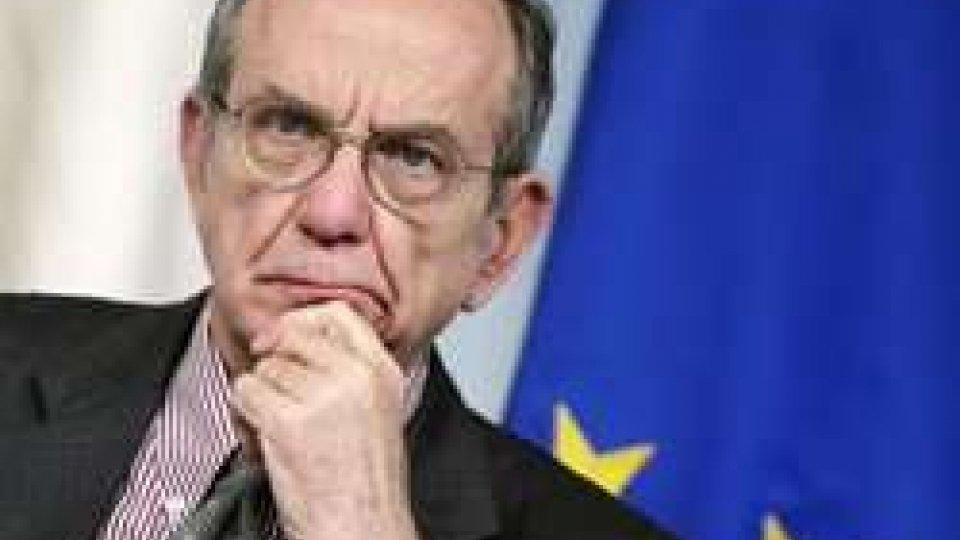 Pier Carlo Padoan, ph ansa.itTra Italia e San Marino torna il sereno