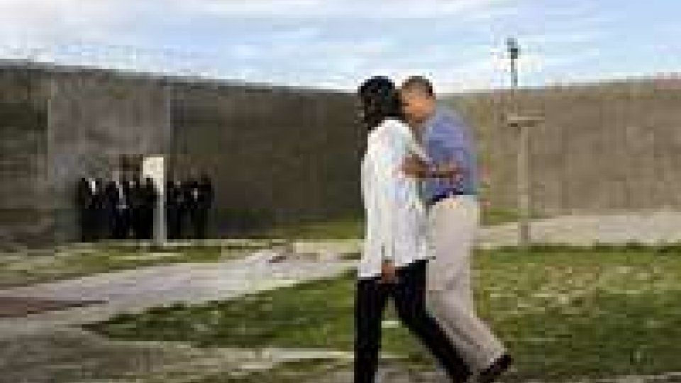 Mandela: Obama a Robben Island, cita Ghandi e Luther King