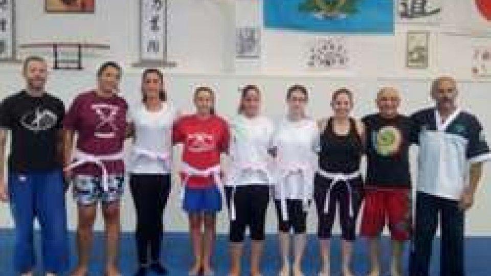 "Le nuove cinture ""Rosa"" del Judo Club San Marino"