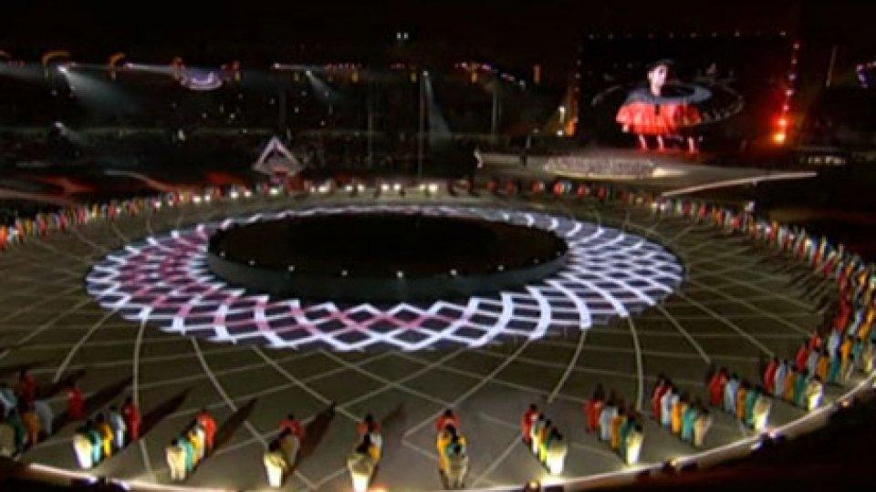 La cerimonia di aperturaSpecial Olympics World Games: la torcia della speranza dà il via alle gare
