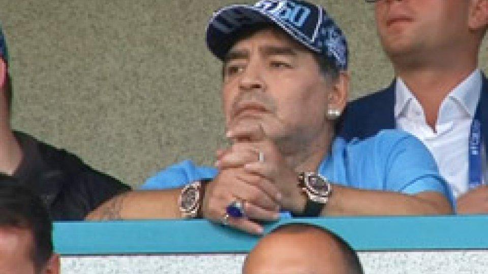 Diego Armando MaradonaMaradona è il nuovo presidente/allenatore della Dinamo Brest