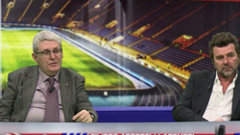 """Claudio Peverani e Massimo BoccucciPeverani: """"Varrella mi convince ma mi aspettavo qualcosa di più"""" Boccucci: """"Nazionale come un club professionistico"""""""