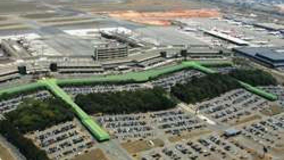 L'aeroporto di San Paolo, Brasile