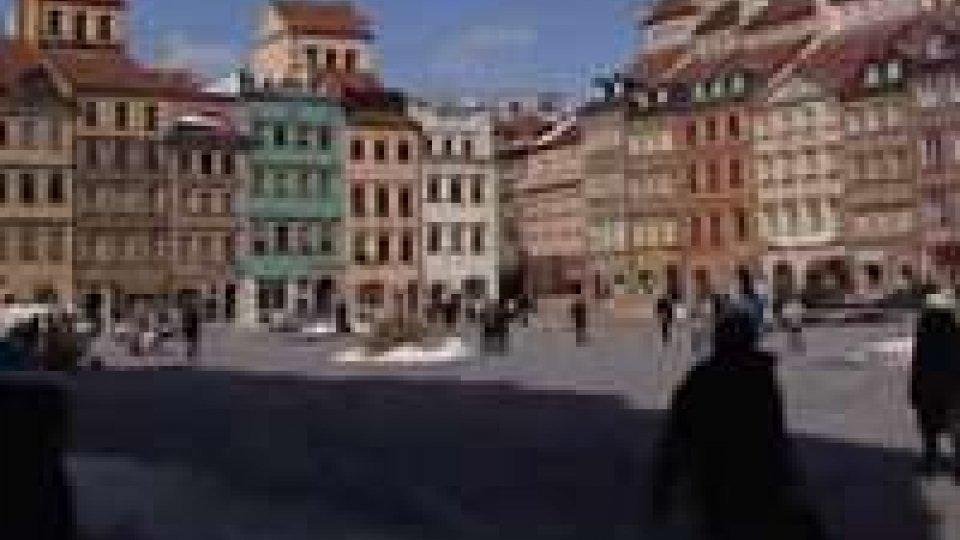 Polonia-San Marino: lente di ingrandimento su VarsaviaPolonia-San Marino: lente di ingrandimento su Varsavia