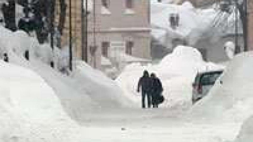 Rimini, danni neve: 27 milioni di euro di risarcimento dalla Regione