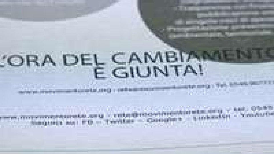 R.E.T.E.: il progetto Giunte del movimento illustrato a Domagnano e Chiesanuova