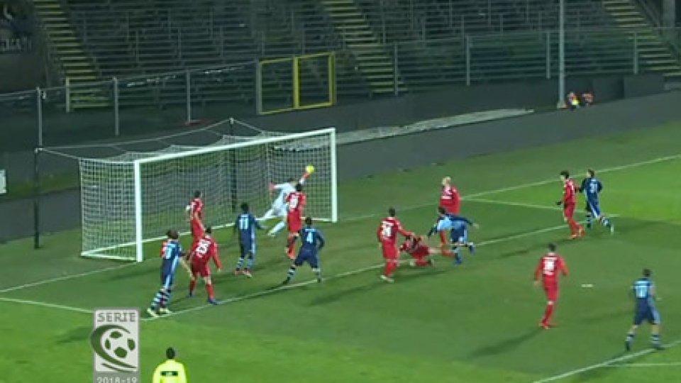 Albinoleffe - Giana Erminio 2-0Albinoleffe 2-0 Giana Erminio, 90 minuti di assedio e vittoria meritata