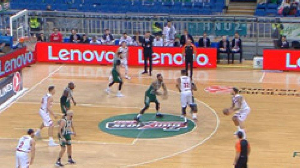 Milano si rialza in casa del Panathinaikos: 83-86Eurolega, Milano si rialza in casa del Panathinaikos: 83-86