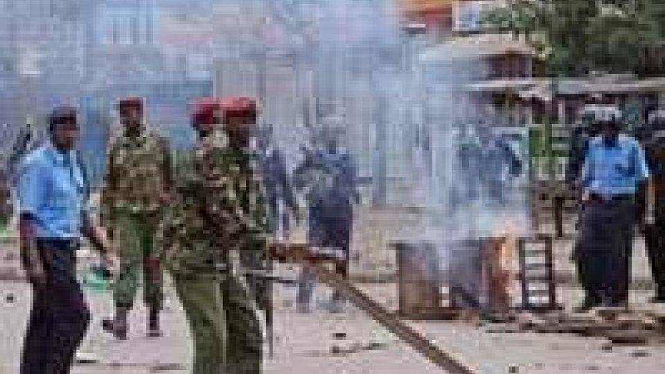 Violenti scontri in Kenia